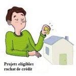 Rachat de crédit avec trésorerie: les projets éligibles